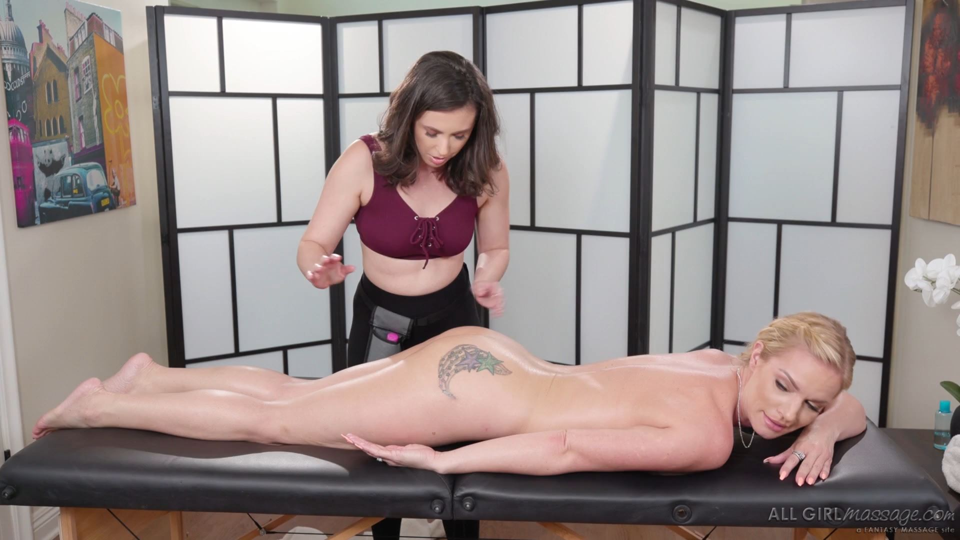 [AllGirlMassage] Casey Calvert, Rachael Cavalli – The Right Lube For The Job