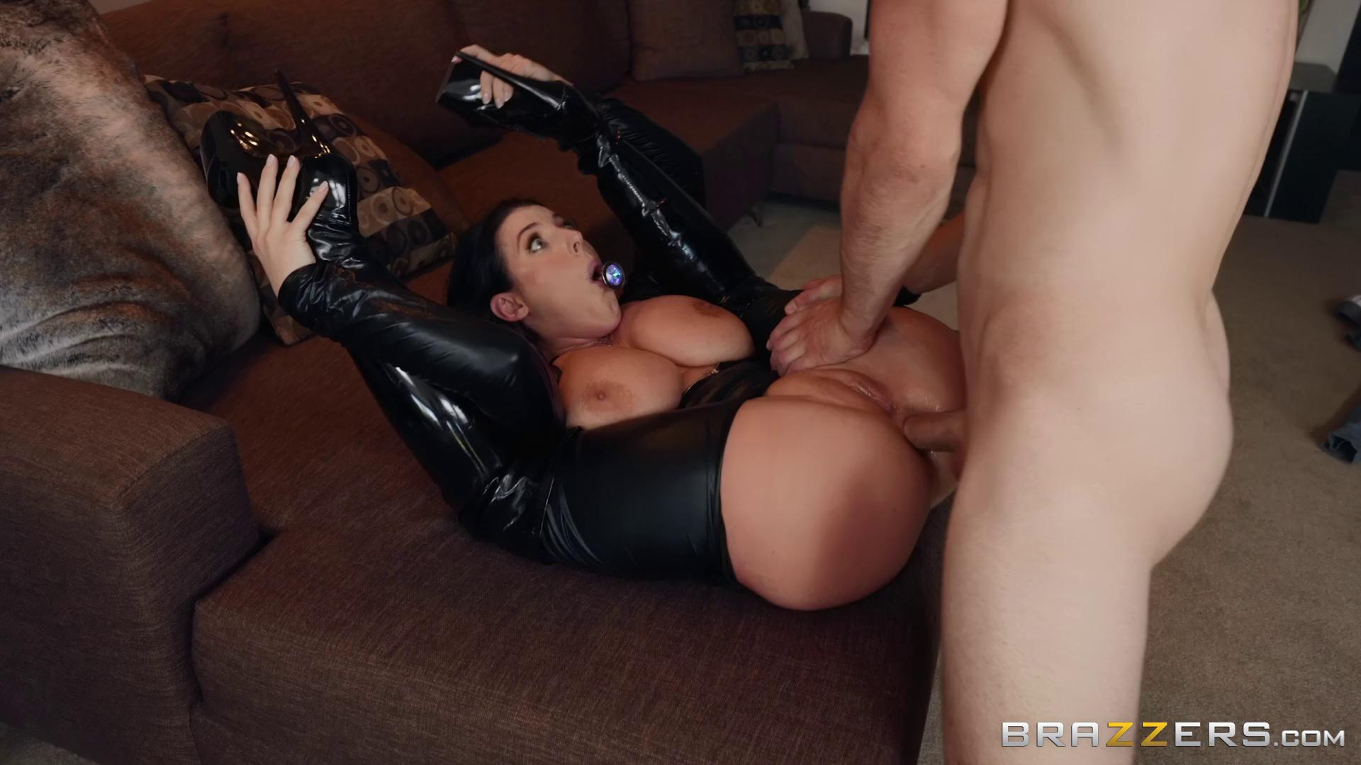 Angela White Busting On The Burglar