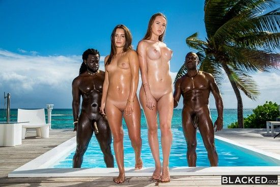 [Blacked] Lana Roy, Kaisa Nord – Living In The Moment