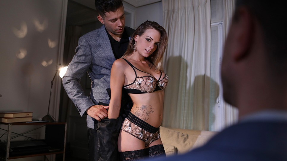 [DorcelClub] Tiffany Leiddi – gets fucked in front of her husband